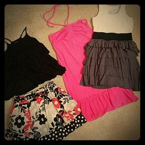 Lot of Girls Small summer clothes